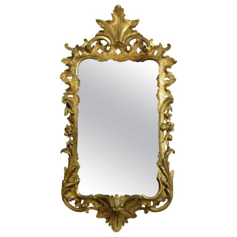 George II Giltwood Wall Mirror