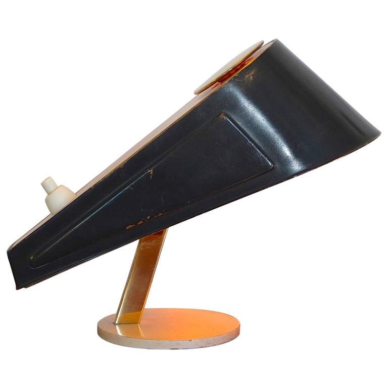 1950s Petite Wedge-Form Desk Lamp