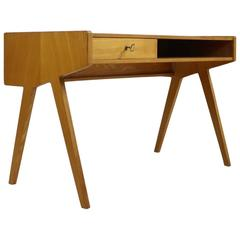 1950s Helmut Magg Writing Table Minimalist Form and Design Desk WK, Germany