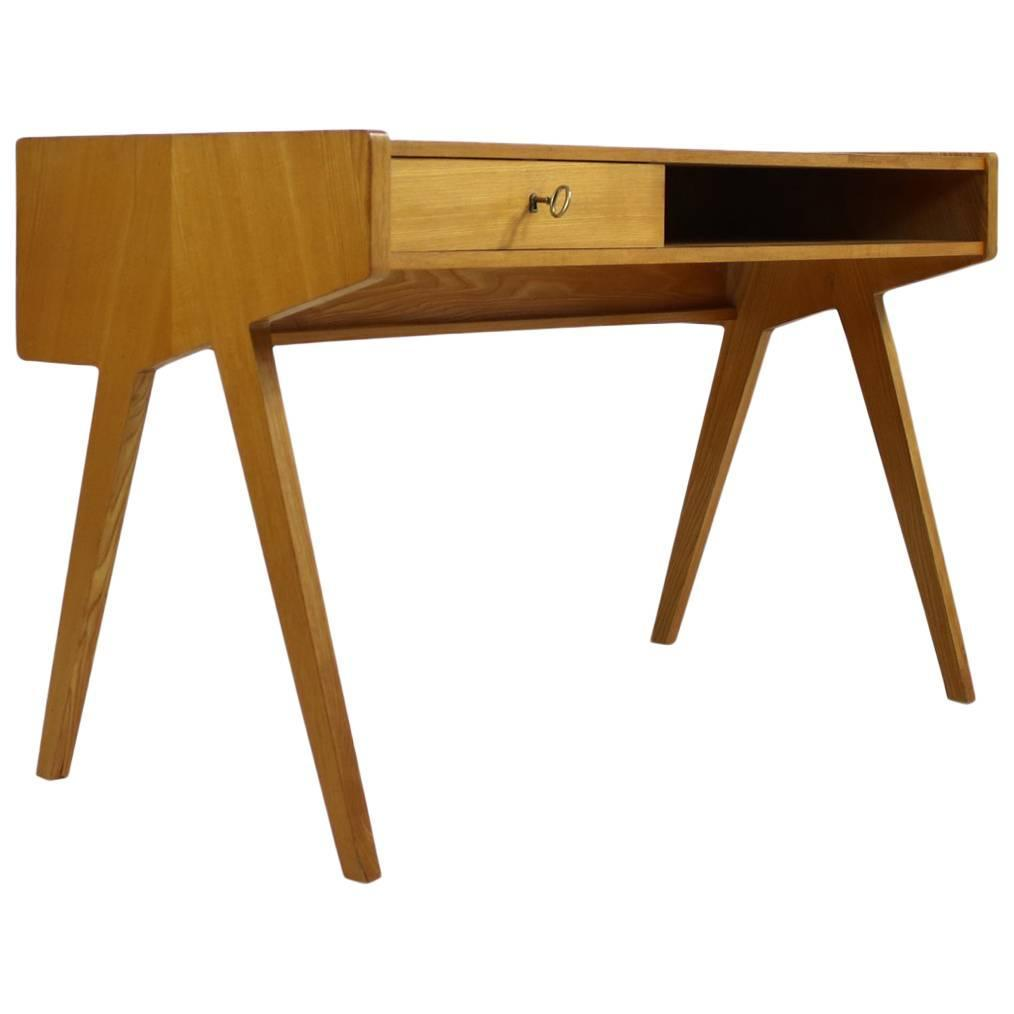 1950s helmut magg writing table minimalist form and design for Table form design