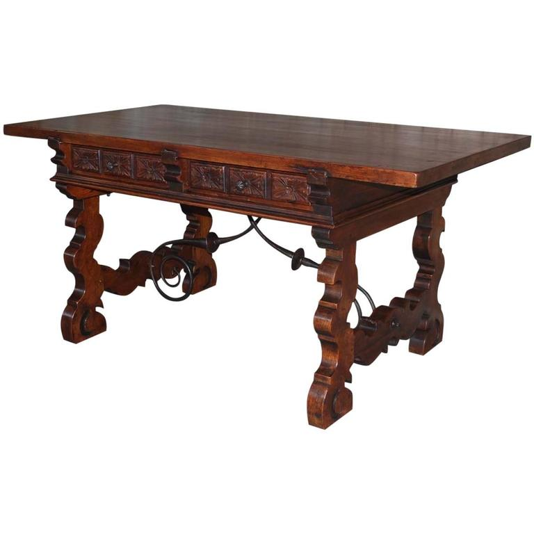 19th Century Spanish Writing Desk or Table
