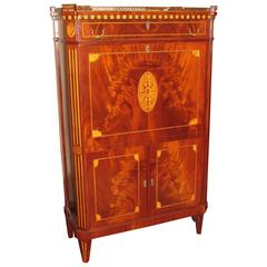 18th Century Louis XVI Secretaire a Abattant