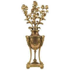 Louis XVI-Style Candelabrum, Henri Dasson