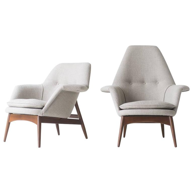Superieur Björn Engö Manta Ray Lounge Chairs, Importer DUX Furniture For Sale
