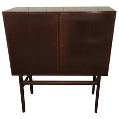 Ole Wanscher Grained Mahogany Credenza/High Sideboard circa 1950s