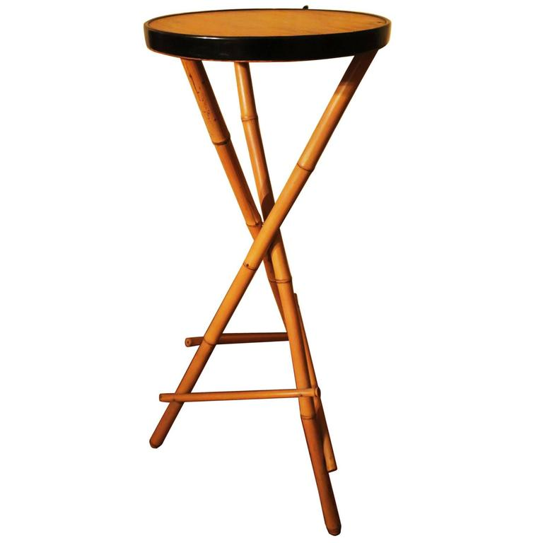 Bamboo Plant On Table: Vintage Bamboo Plant Stand At 1stdibs