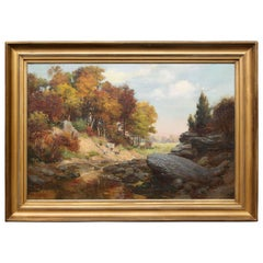 Charles Abel Corwin Painting