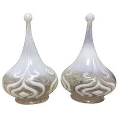 A pair of Tear Drop Vaseline Shades