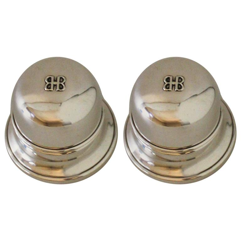 pair of birks sterling silver ring boxes at 1stdibs