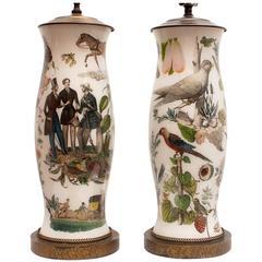 Pair of Exotic Lamps