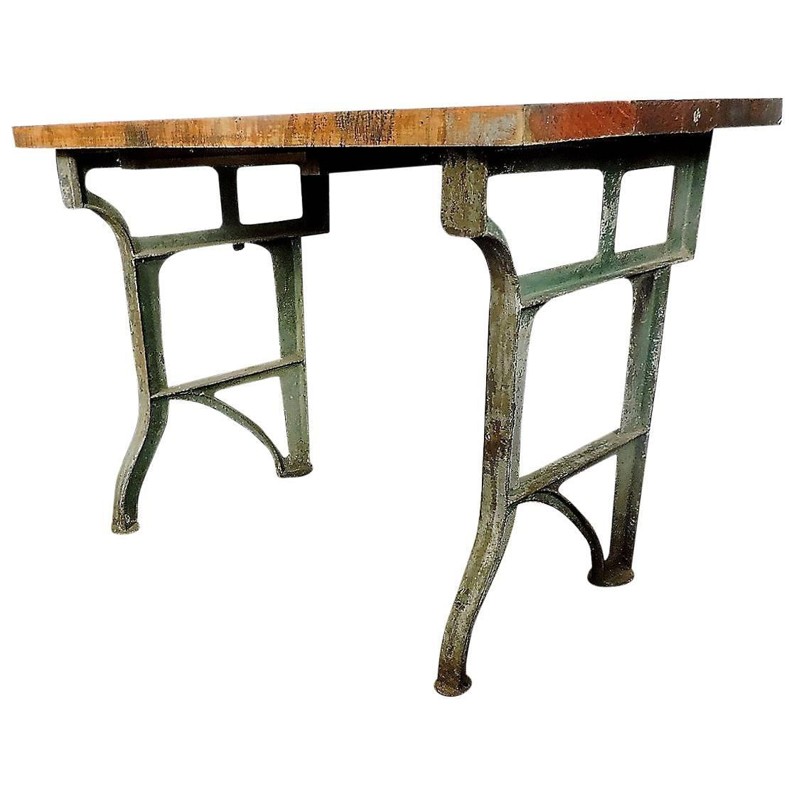 Antique kitchen work table - Antique Kitchen Work Table 30