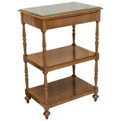 Three-Tiered Etagere, Side Table
