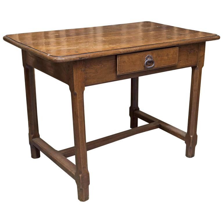 Small Oak Desk For Sale At 1stdibs