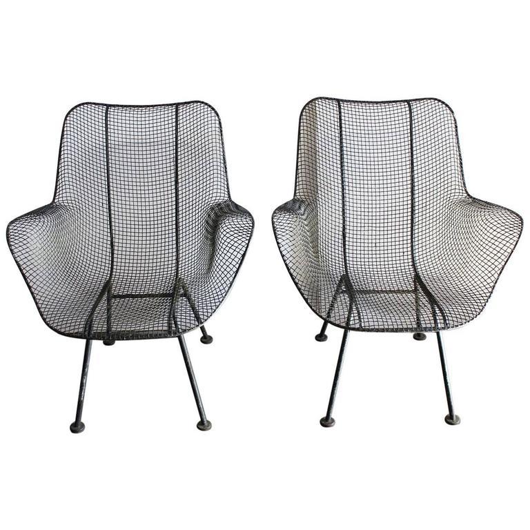 Mid-Century Sculptura Lounge Chair by Woodard,