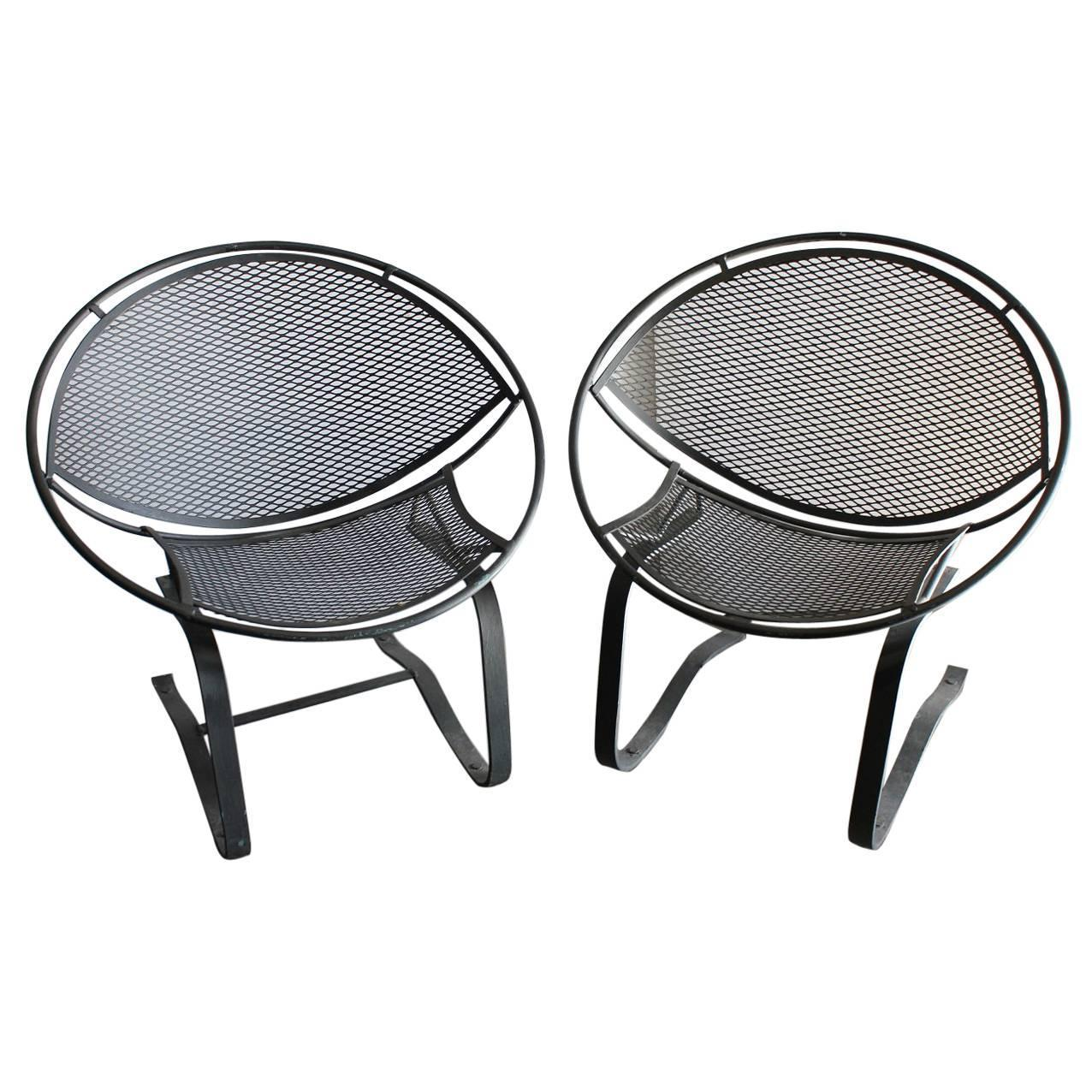 "Midcentury Garden Chairs ""Radar"" by Salterini For Sale at 1stdibs"