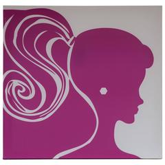 Barbie Inspired Silk Screen in Magenta