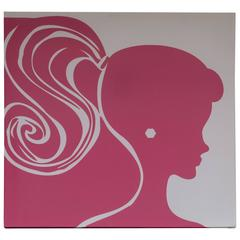 Barbie Inspired Silk Screen in Pink