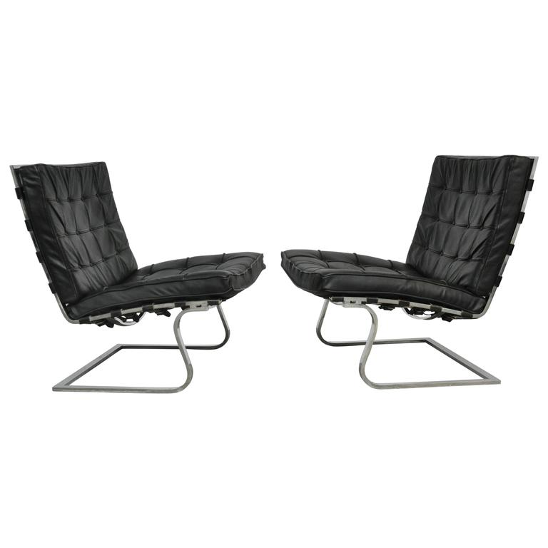 Mies Van Der Rohe Tugendhat Lounge Chairs for Knoll 1