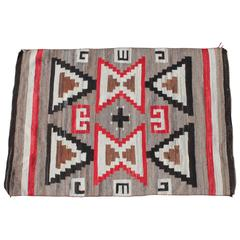 Navajo Geometric Indian Weaving