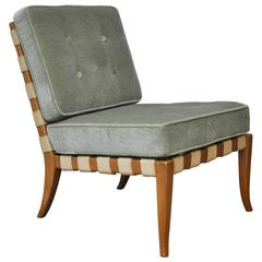 Webbed Slipper Chair by T.H. Robsjohn-Gibbings