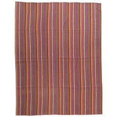 "Striped ""Jajim"" Rug"