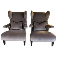"""1940s """"Bergere"""" Armchairs"""