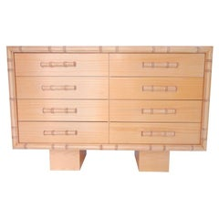 "William ""Billy"" Haines Faux Bamboo Chest"