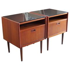 Pair of Night Stands by Borge Mogensen