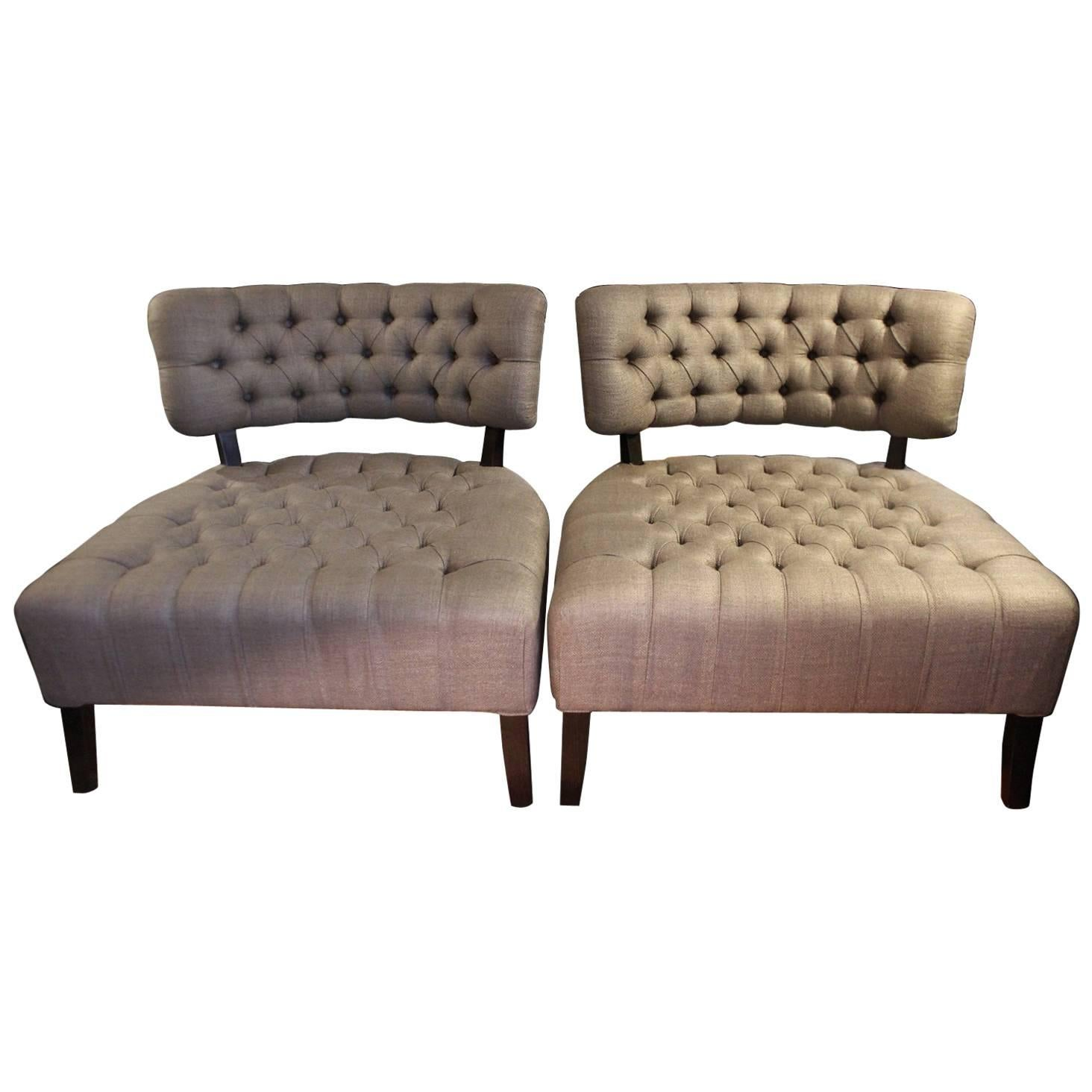 1950s-Style Armchairs