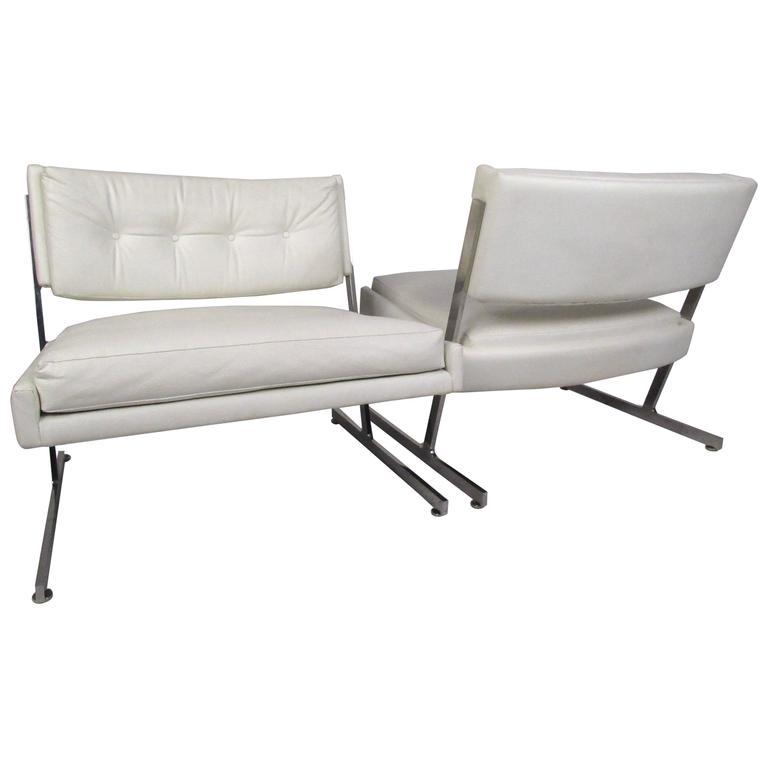 Pair of Harvey Probber Slipper Chairs