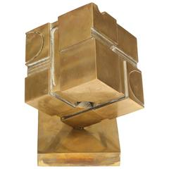"Rare Bernard ""Tony"" Rosenthal Cube Sculpture"