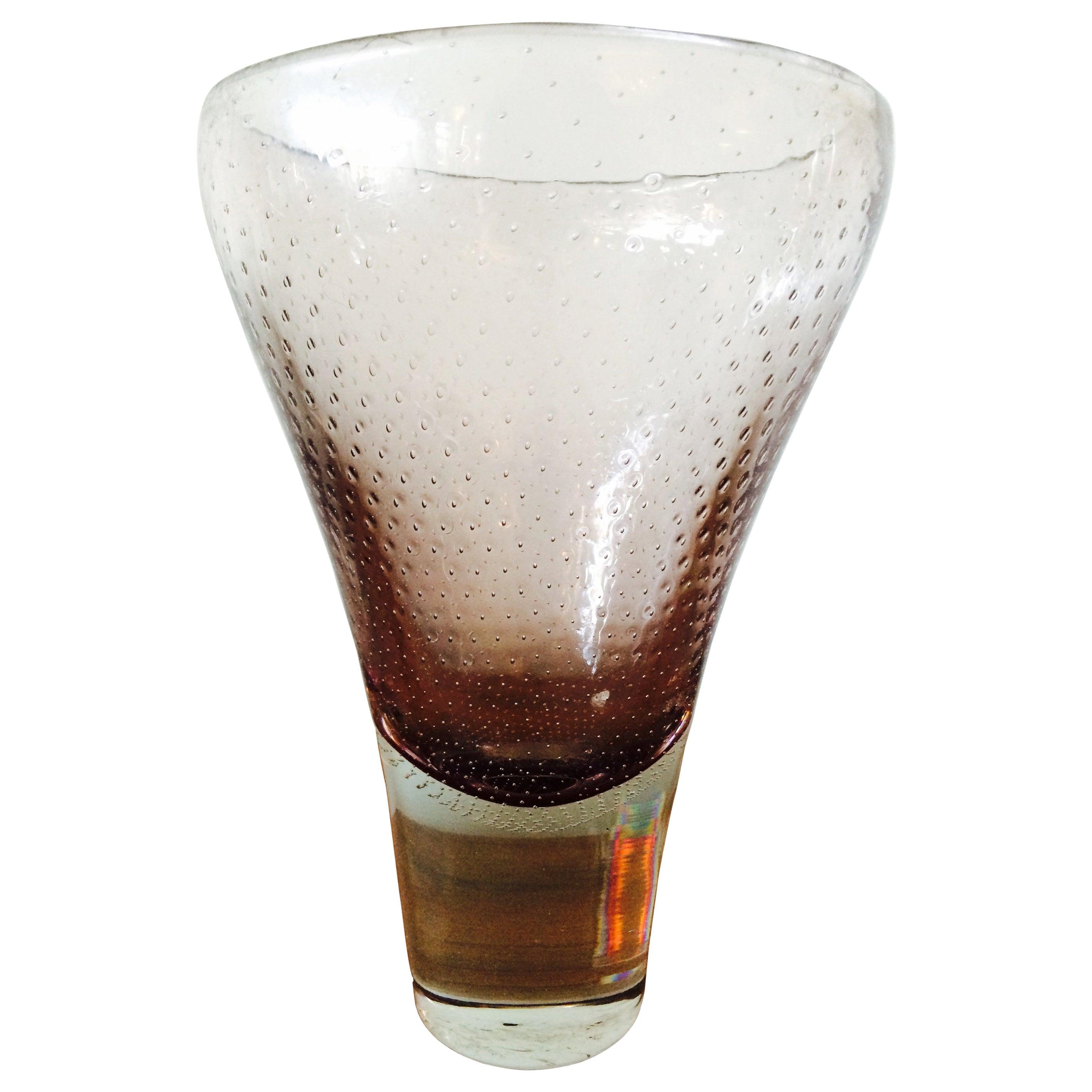 Gunnel Nyman Glass Vase for Nuutarjavi