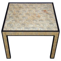 Frances Elkins Capiz Shell Clad Occasional Table