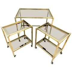 Bar Cart Gigognes Italian Design