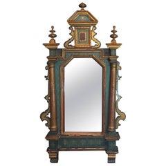 Hand-Painted 19th Century Venetian Mirror