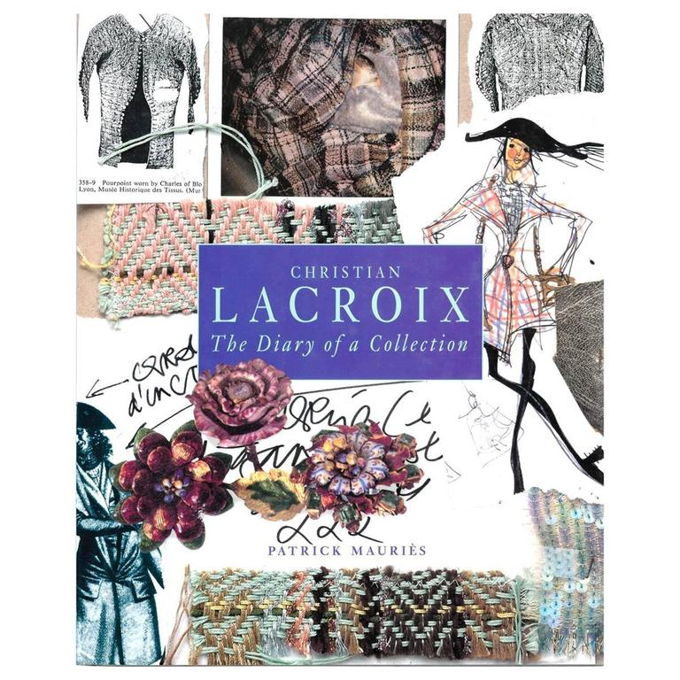 """Christian Lacroix - the Diary of a Collection"" Book For Sale"