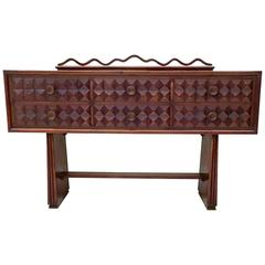 Ebonized Oak Dresser by Paolo Buffa, 1950s