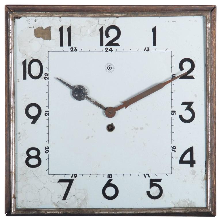 Big Kienzle Bauhaus Wall Clock from the 1930s 1