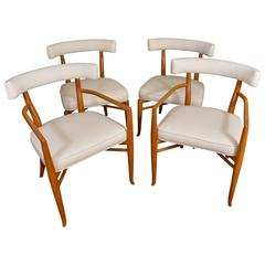 Four American Art Deco Chairs by T.H. Robsjohn-Gibbings