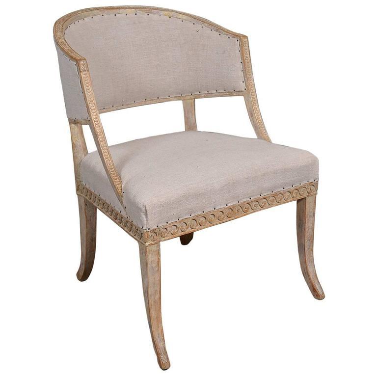 Swedish Barrel Back Chair