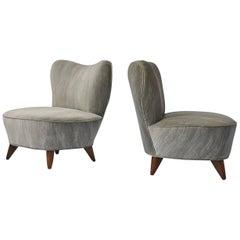 Pair of Lounge Chairs by Vladimir Kagan