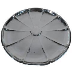 Tiffany American Craftsman Sterling Silver Cake Plate