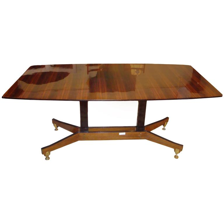 Macassar Mid-Century Modern Dining or Centre Table