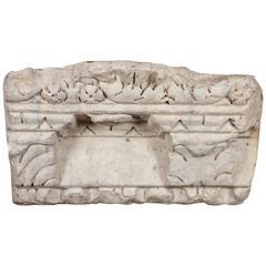 Piece of Roman Stone Cornicing, circa 200 BC