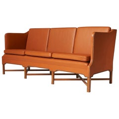 Kaare Klint Sofa Model #4118 by Rud Rasmussen