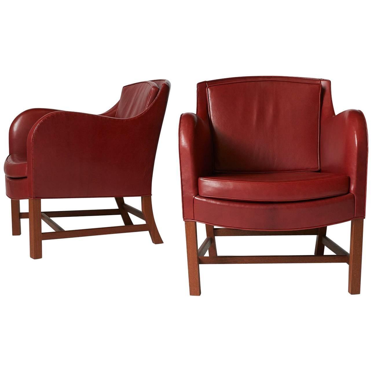 "Pair of Kaare Klint ""Mix' Chairs"