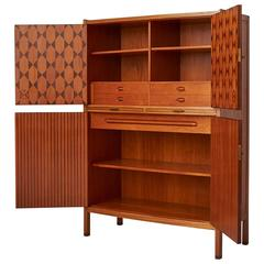 Bow Front Cabinet by David Rosen