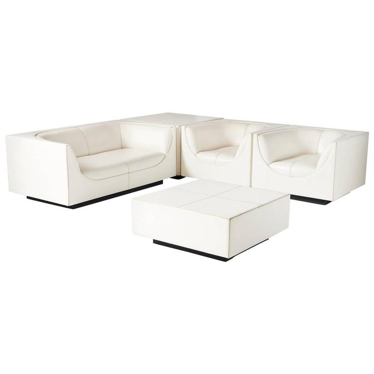 "Living Room Suites For Sale: ""Cubo"" Living Room Suite By Jorge Zalszupin For Sale At"