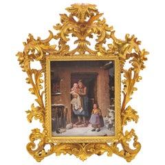 19th Century Austrian Porcelain Plaque