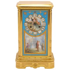 19th Century Sevres Mantel Clock